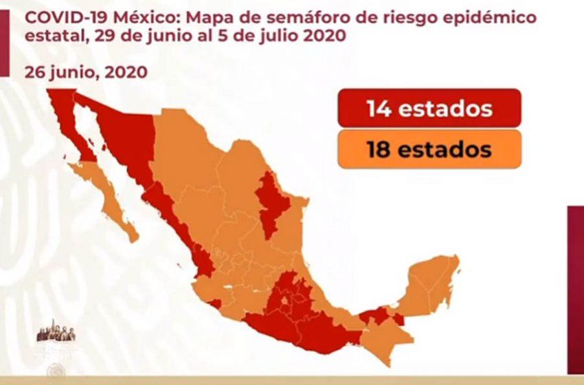 México supera los 200 mil contagios de COVID-19