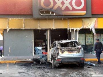 """Disturbios en Celaya estarían relacionados con detención de la madre de """"El Marro"""""""