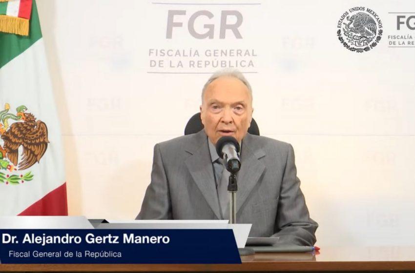 """Se acabó la """"verdad histórica"""" sobre Ayotzinapa, dice la Fiscalía General de la República"""