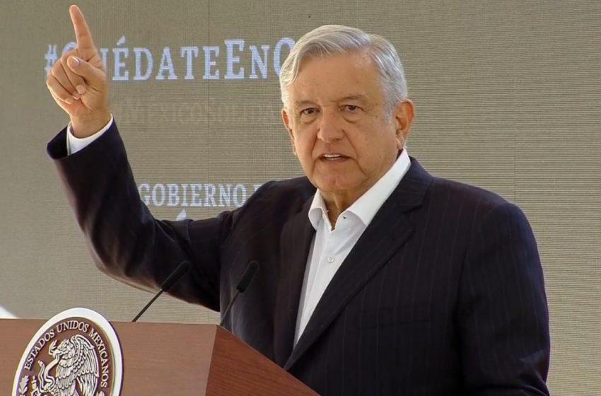 """""""No voy a permitir que se ningunee a la investidura presidencial"""", advierte López Obrador a la oposición"""