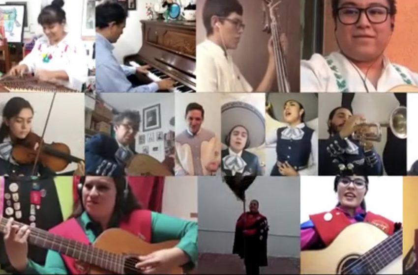"""UAQ demuestra su talento a la distancia con """"Jesusita en Chihuahua"""""""