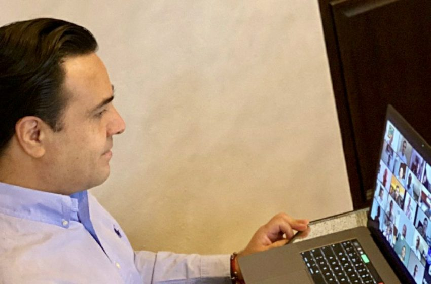 Detectan brote de COVID-19 en gabinete de Luis Nava