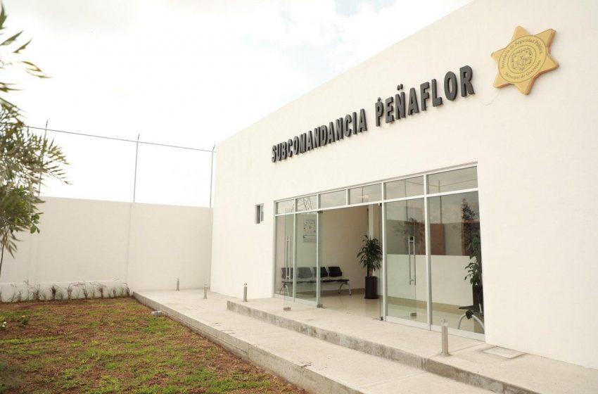 Inauguran subcomandancia de la SSPMQ en la delegación Felix Osores