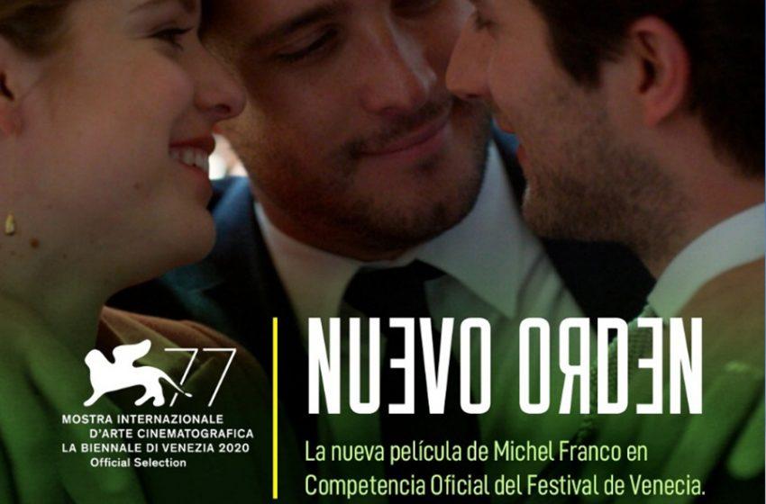 """Película mexicana """"Nuevo Orden"""" participará en la Mostra del Cine di Venecia"""