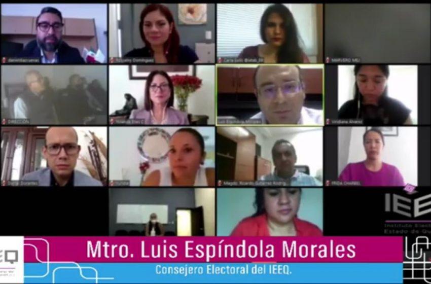 Conmemora el IEEQ 65 años de voto femenino en México