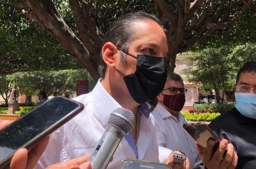 Asegura Pancho Domínguez que Querétaro ha cumplido con subir información completa sobre COVID-19