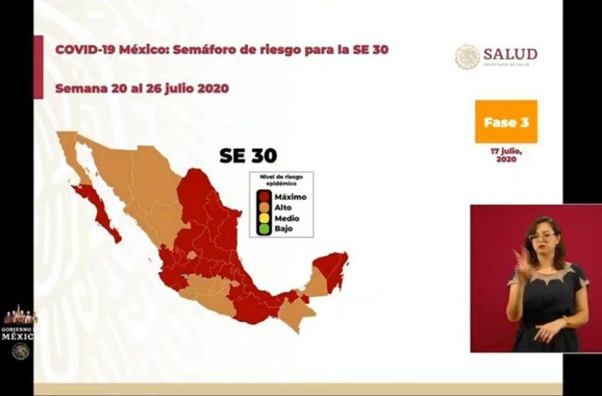 ¡De nuevo a rojo! Querétaro regresa al tope del semáforo epidemiológico