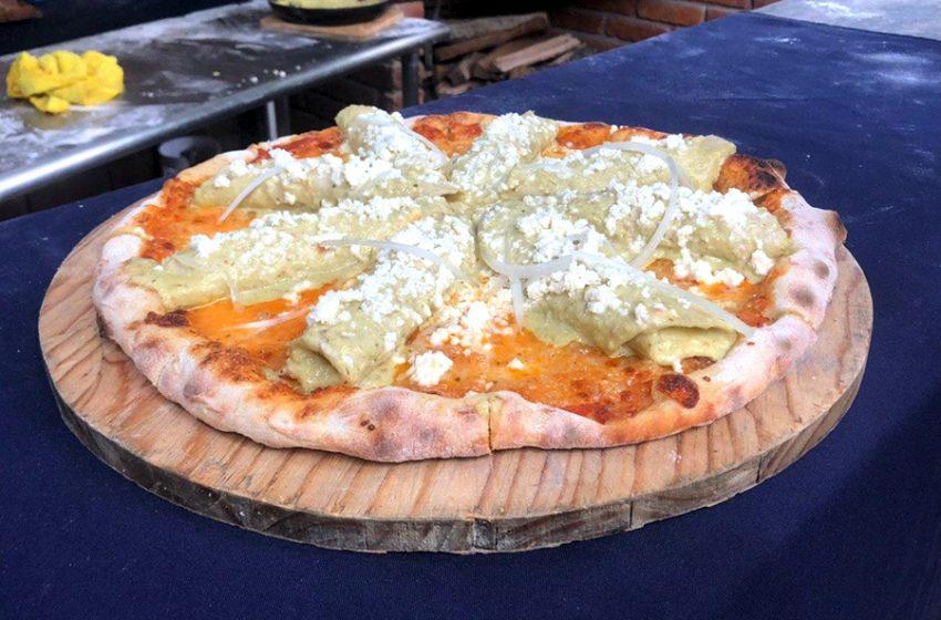 Conoce a los creadores de la pizza de enchiladas