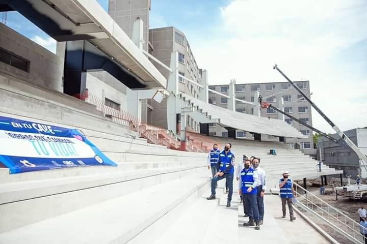 Nuevo Estadio Olímpico podría estar operando en 2 meses: Indereq