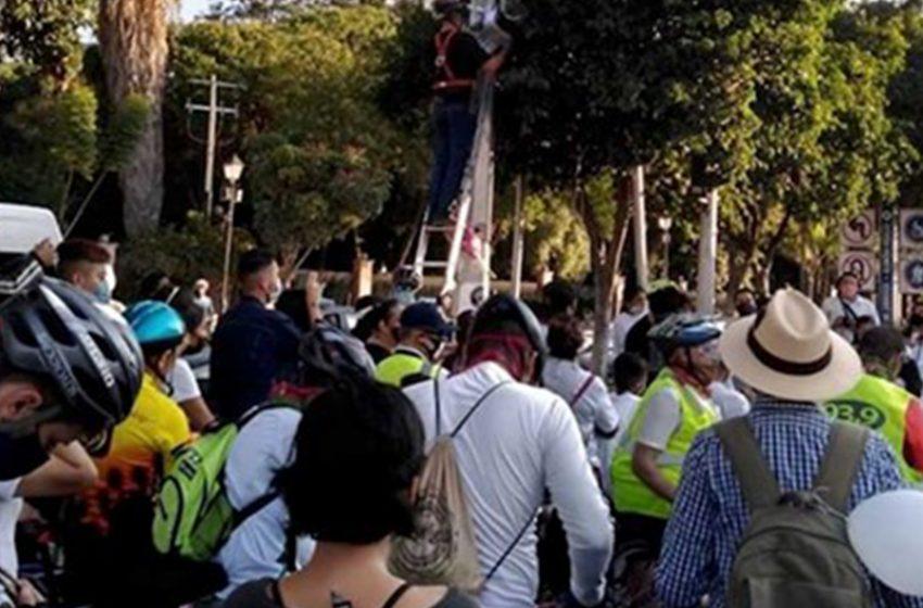 Suman 30 bicicletas blancas en Querétaro