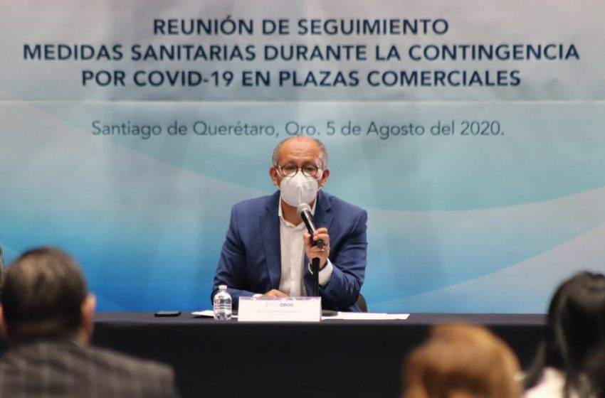 Piden a plazas comerciales reforzar medidas sanitarias