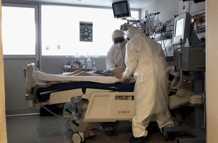 Conoce el área COVID del Hospital General de Querétaro