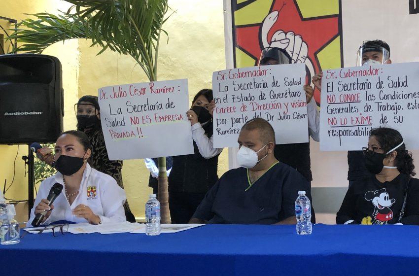 Formato de comparecencia de Salud no fue el adecuado, quedaron temas en el aire: sindicato