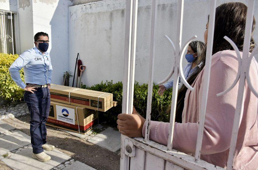 Se entregarán 3 mil calentadores solares en Corregidora