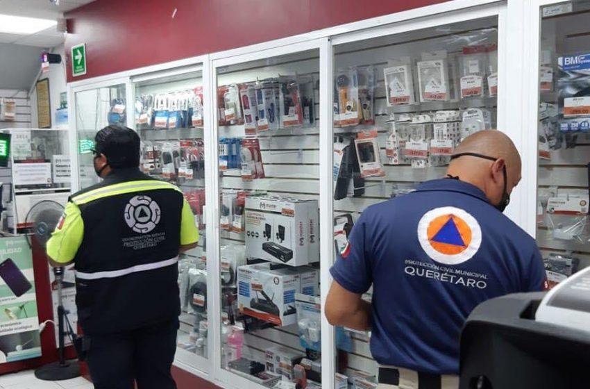 Continuarán revisiones sanitarias por Protección Civil