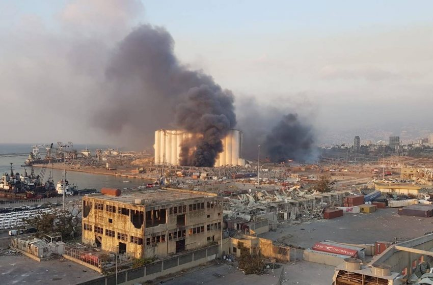 Gran explosión en puerto de Beirut deja cientos de heridos