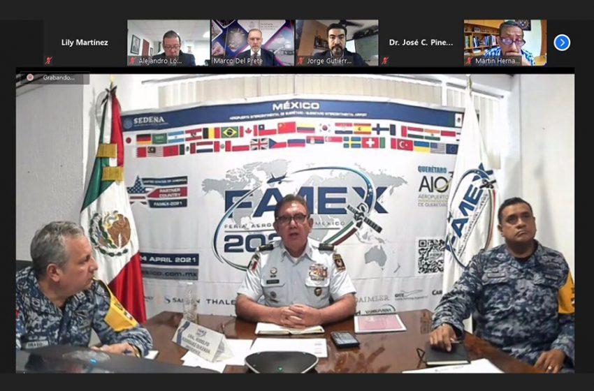 Feria Aeroespacial México 2021 ya está en vías de planeación