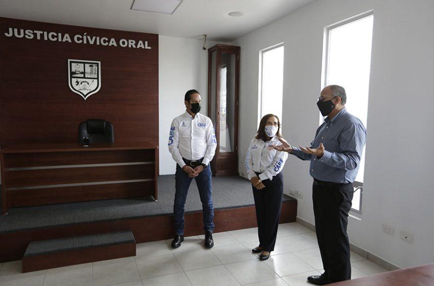 Huimilpan cuenta con nueva sala oral de Justicia Administrativa