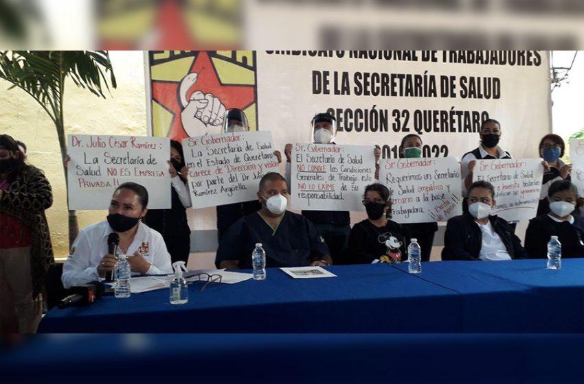 S.O.S. señor gobernador: Sindicato de Salud