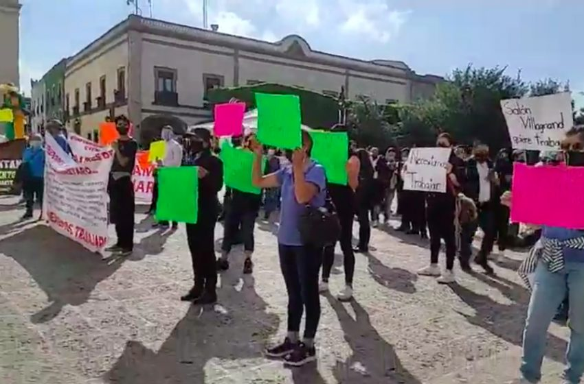 Antreros son libres de manifestarse: Canaco