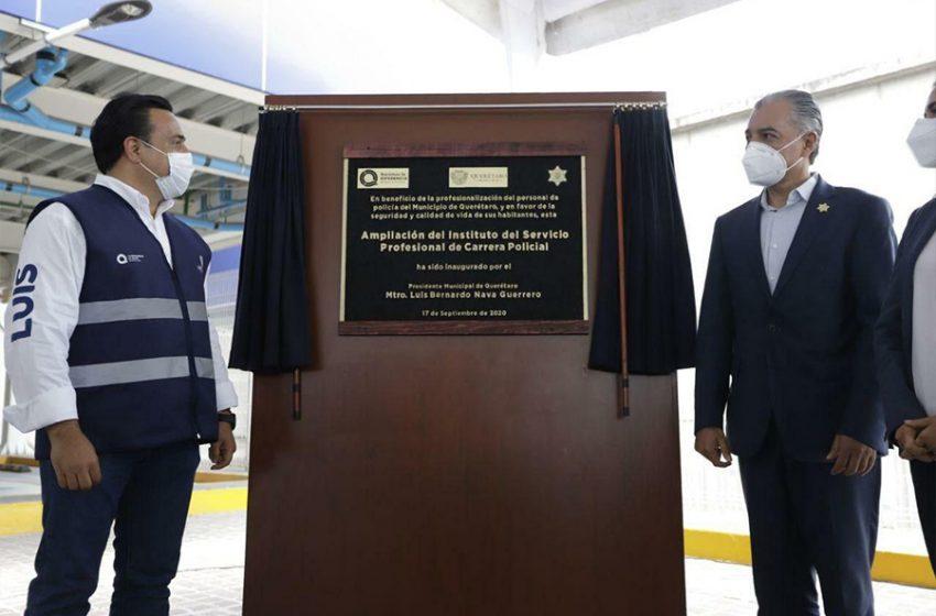 Inauguran instalaciones del Instituto del Servicio Profesional de Carrera Policial