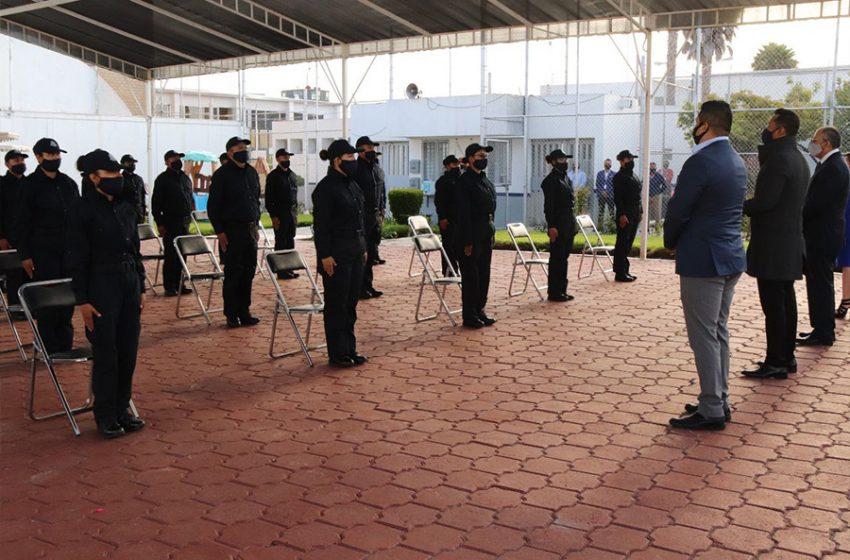 Crece equipo de custodios del Sistema Penitenciario de Querétaro