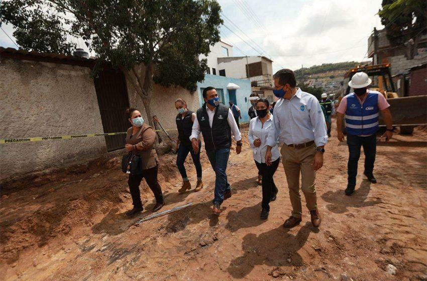 Municipio invierte 2.7 millones de pesos en la colonia San Pedrito Peñuelas II