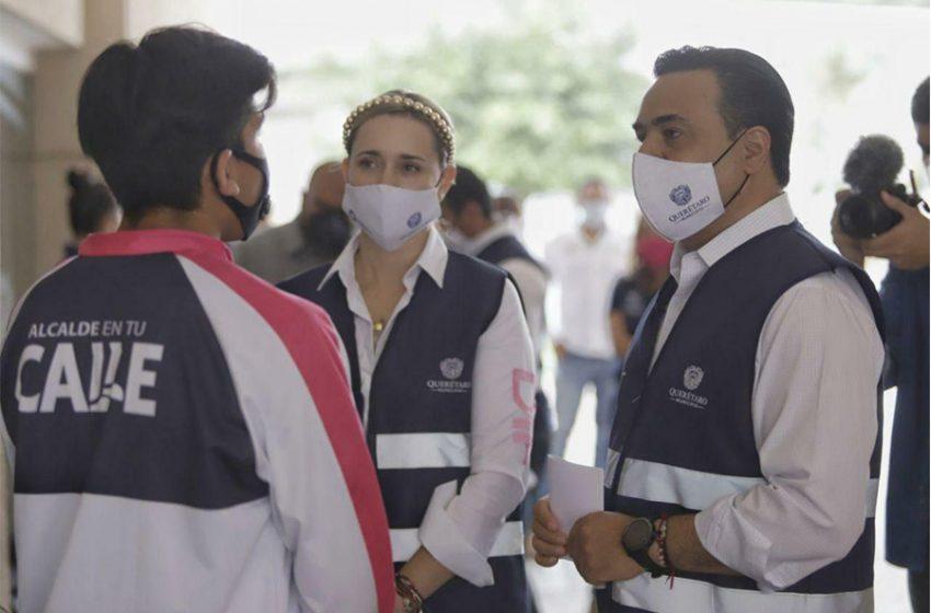 Municipio de Querétaro ha entregado más de 19 mil apoyos a jóvenes estudiantes
