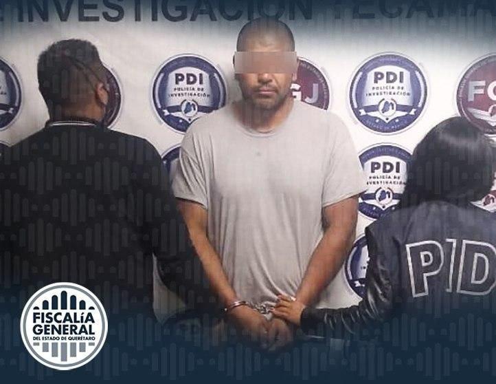 En prisión y vinculado a proceso, presunto feminicida de Amealco