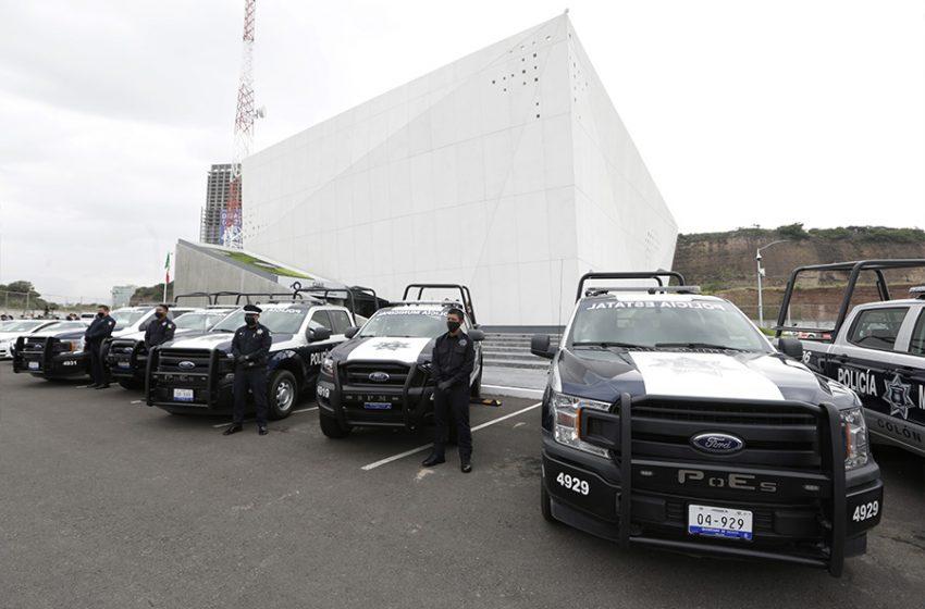 Invierten más de 39.3 millones de pesos en las corporaciones de seguridad en Querétaro