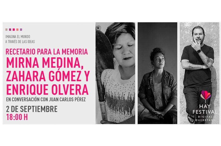 """""""Recetario de la Memoria"""" platillos inspirados en personas que quizás nunca vuelvan"""