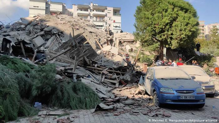 """Sismo de entre 6.6 y 6.8 de magnitud """"golpea"""" a Grecia y Turquía"""