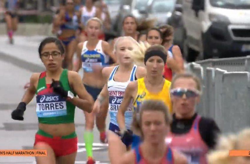 Resultado histórico: Corredora queretana logra 5° lugar con el equipo mexicano en Mundial de Medio Maratón