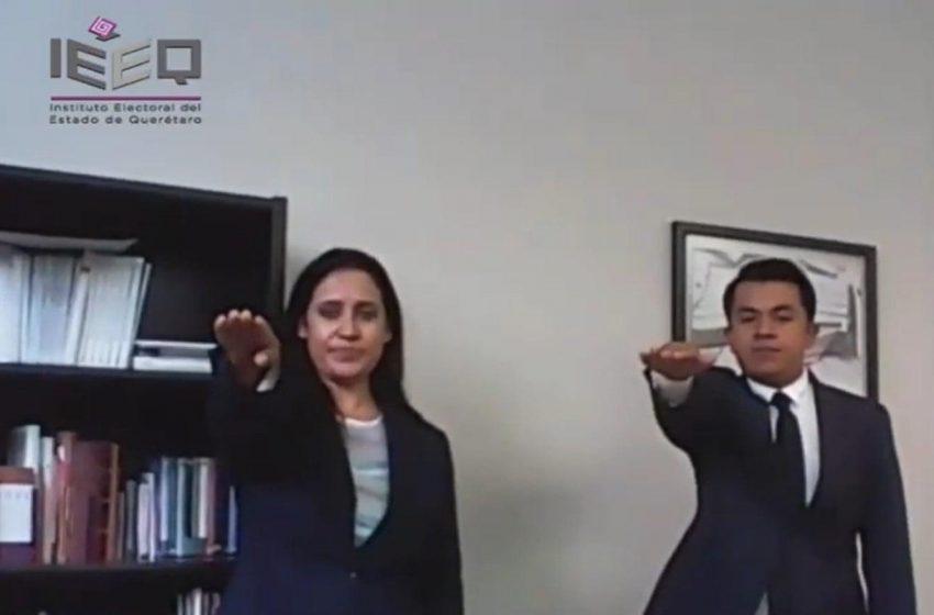 Otorga IEEQ nuevos nombramientos previo al arranque del proceso electoral en Querétaro