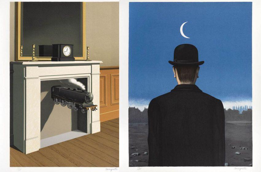 Por primera vez en la historia, subastarán dos obras de René Magritte en México