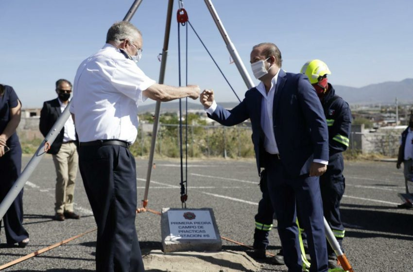 Bomberos de Querétaro contará con campo de prácticas a un costado del Bicentenario