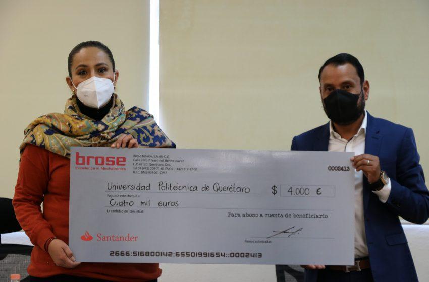 Brose dona 4 mil euros a la UPQ