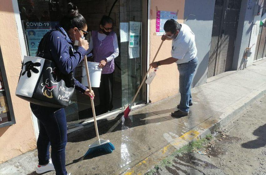 Realizan séptima jornada de limpieza, ahora en las colonias España y La Popular