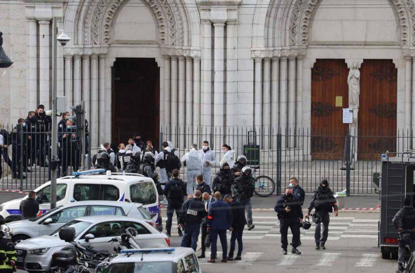 Atentado en iglesia deja tres personas muertas en Francia; una fue decapitada