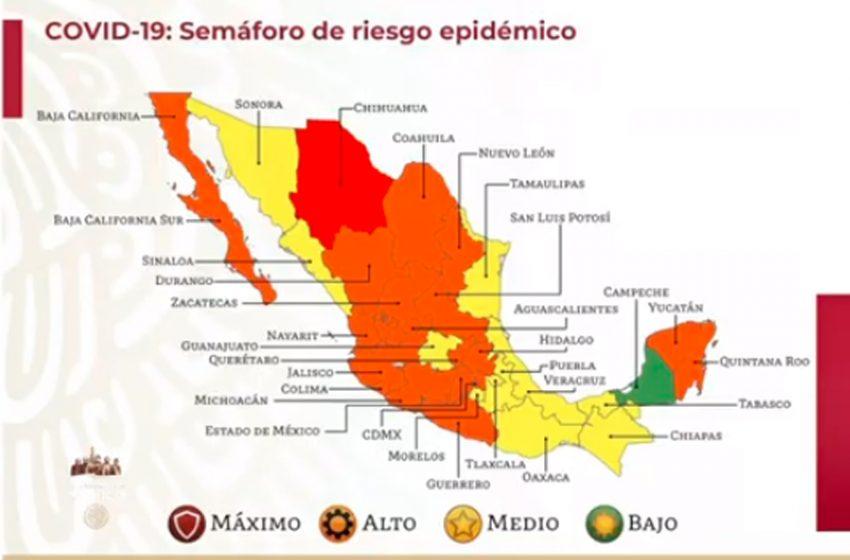 Querétaro continuará en semáforo naranja