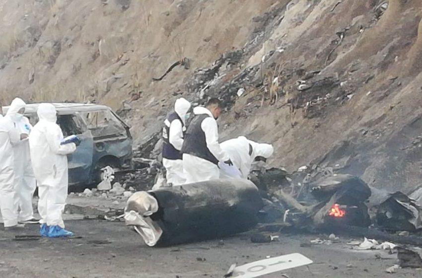 Al menos 14 muertos dejó explosión de pipa de gas en carretera Tepic-Guadalajara