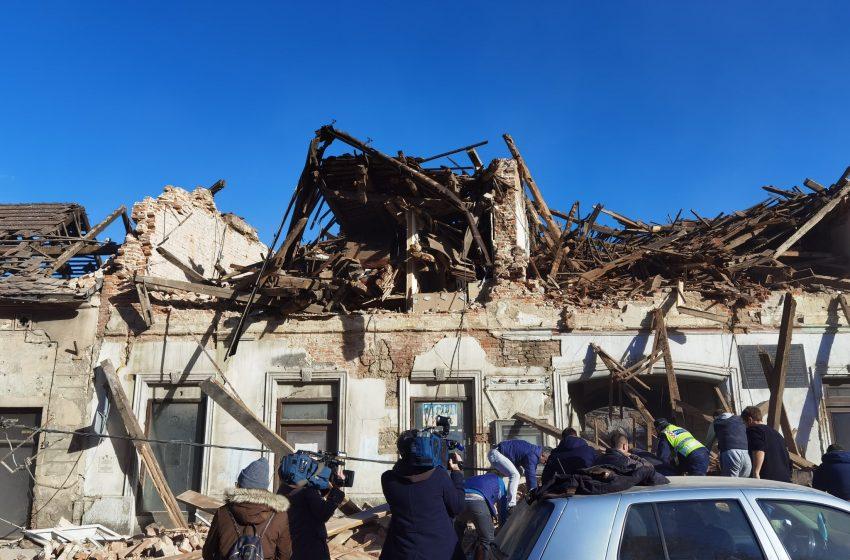 Sismo azota sur de Europa, los mayores daños se registran en Croacia