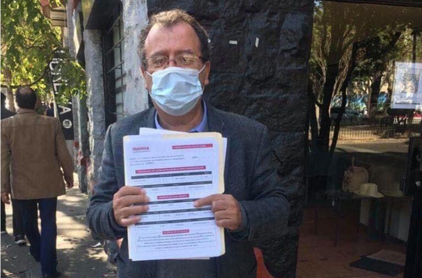 Acuden morenistas a registrar sus candidaturas por la gubernatura de Querétaro