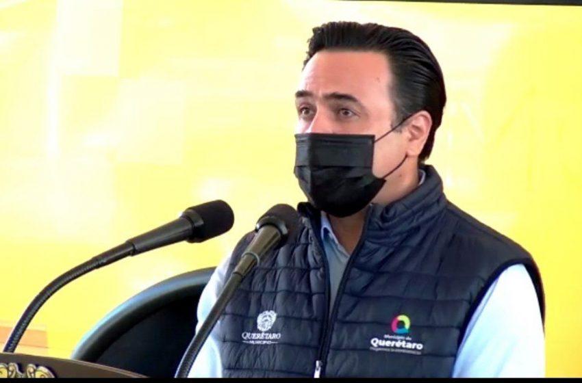Obtiene Nava licencia como alcalde de Querétaro