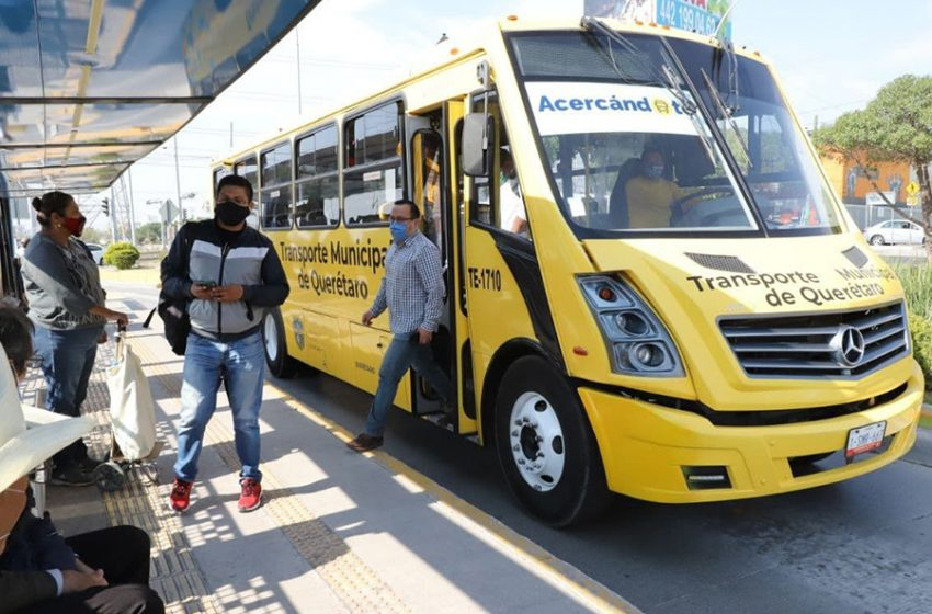 Programa de transporte Acercándote suspenderá operaciones del 1 al 4 de abril