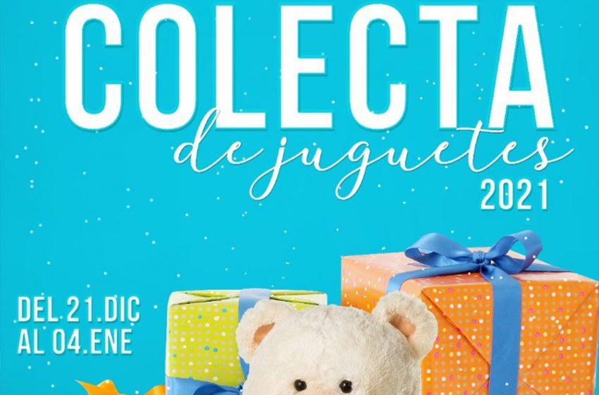 Inicia colecta anual de juguetes para niñas y niños de comunidades vulnerables