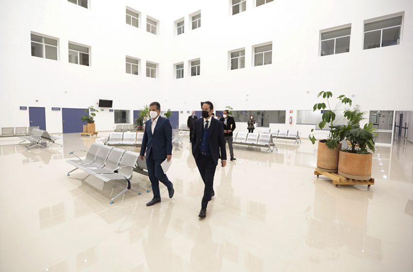 Avanza el equipamiento del nuevo Hospital General de Querétaro