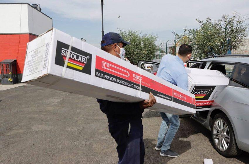 Corregidora invita a la población a tramitar calentadores solares