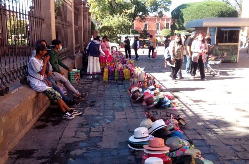 Buscan favorecer comercio ordenado en Centro Histórico de Querétaro