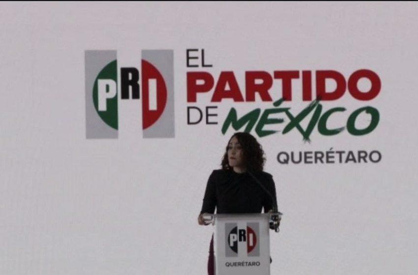 Abigaíl Arredondo cumple con prerregistro; busca ser candidata a la gubernatura de Querétaro